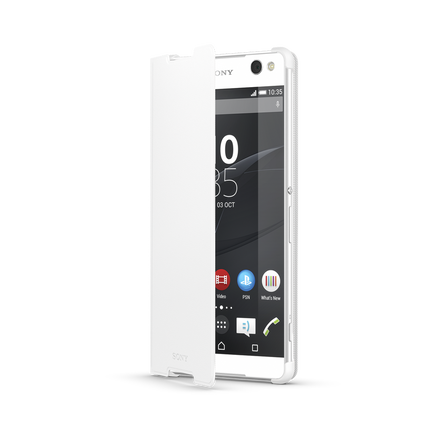 Style Cover for for Xperia C5 Ultra (White), , hi-res