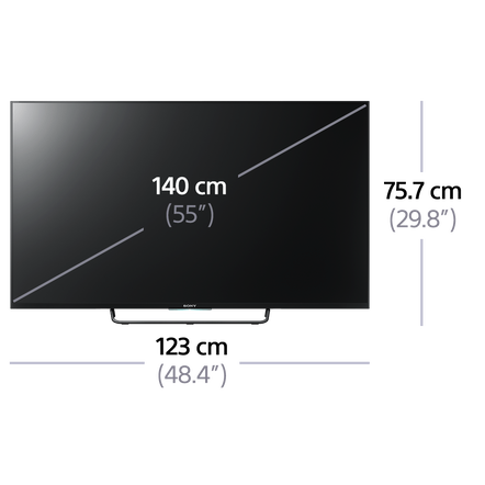 "55"" W800B Full HD TV"
