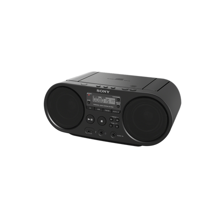 CD Boombox with AM/FM Radio Tuner and USB Playback