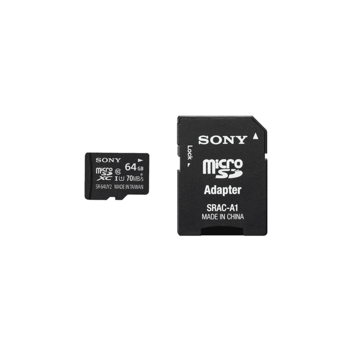 64GB SR-UY2A Series micro SD Memory Card, , product-image