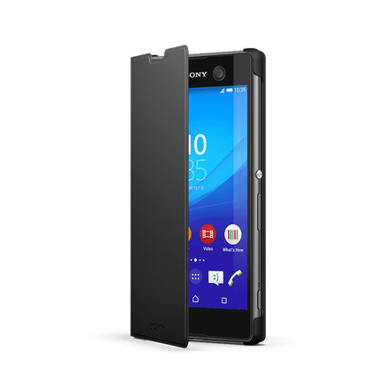 Style Cover Stand SCR48 for Xperia M5 (Black), , hi-res