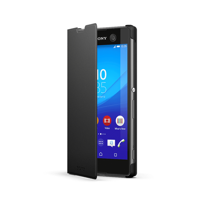 Style Cover Stand SCR48 for Xperia M5 (Black), , product-image