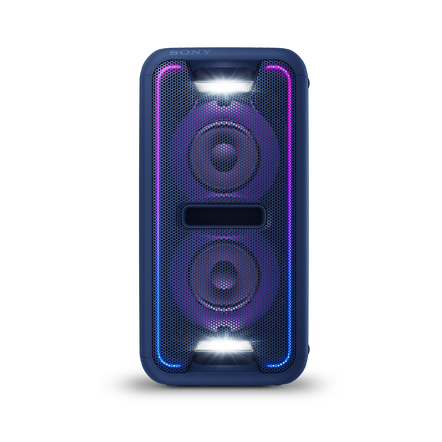 EXTRA BASS High Power Home Audio System with Bluetooth (Blue), , hi-res