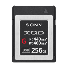 XQD G Series 256GB Memory Card