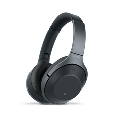 WH-1000XM Wireless Noise Cancelling Headphones (Black)