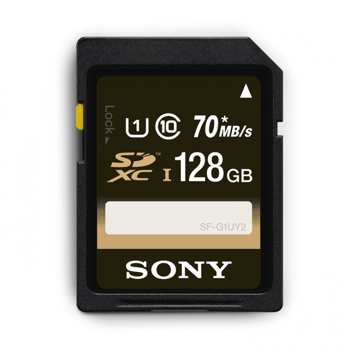 128GB UHS-I Class 10 SDXC/SDHC memory card SF-UY2 Series, , product-image