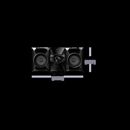 Mini Hi-Fi System with Bluetooth, , hi-res