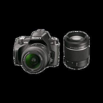 A230Y DSLR 10.2 Megapixel Twin Lens Kit, , hi-res