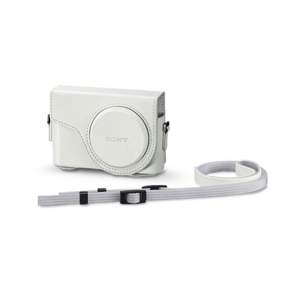 Jacket Case For Cyber-shot WX350 White, , hi-res