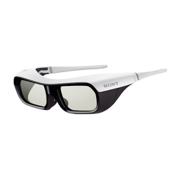 Active Shutter 3D Glasses for BRAVIA Full HD 3D TV (White), , hi-res