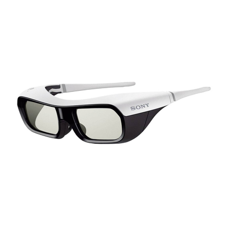 Active Shutter 3D Glasses for BRAVIA Full HD 3D TV (White)
