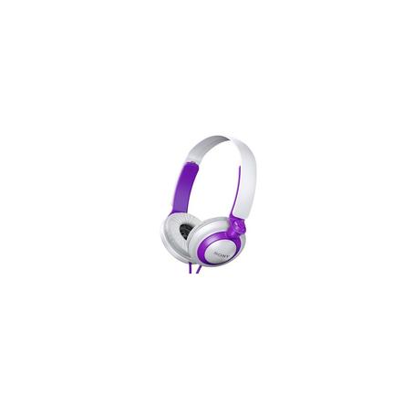 XB200 Extra Bass (XB) Headphones (Violet)