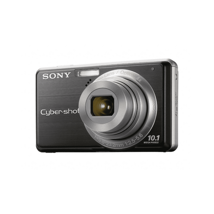 10.1 Megapixel S Series 4X Optical Zoom Cyber-shot Compact Camera (Black)
