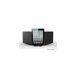 Micro Hi-Fi Component System with iPhone/iPod/iPad Dock (Black), , hi-res