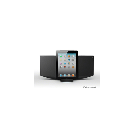 Micro Hi-Fi Component System with iPhone/iPod/iPad Dock (Black), , hi-res
