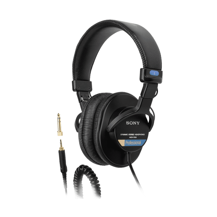 MDR-7506 Professional Monitoring Headphones, , product-image