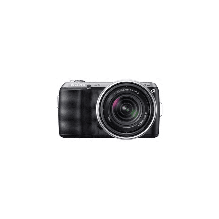 Body with SEL1855 lens (Black), , product-image