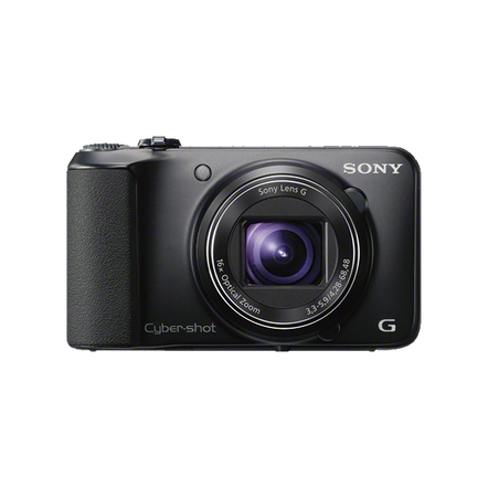 16.1 Megapixel H Series 16X Optical Zoom Cyber-shot Compact Camera (Black)