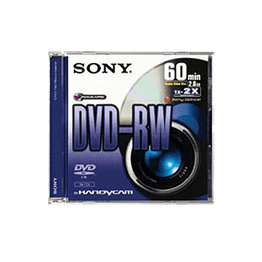 2.8GB 8cm Video DVD-RW