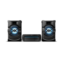 High Power Mini Hi-Fi System with Bluetooth, , hi-res