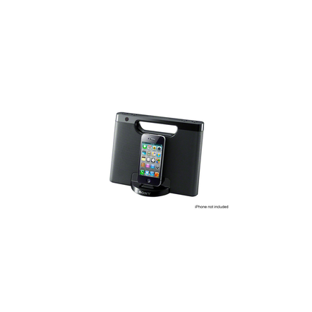 iPod and iPhone Portable Dock (Black)