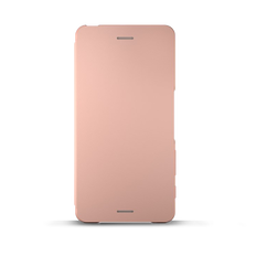 Style Cover Flip SCR58 for Xperia X Performance (Rose God)