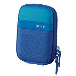 Soft Carrying Case for T and W Series CyberShot Camera (Blue), , hi-res