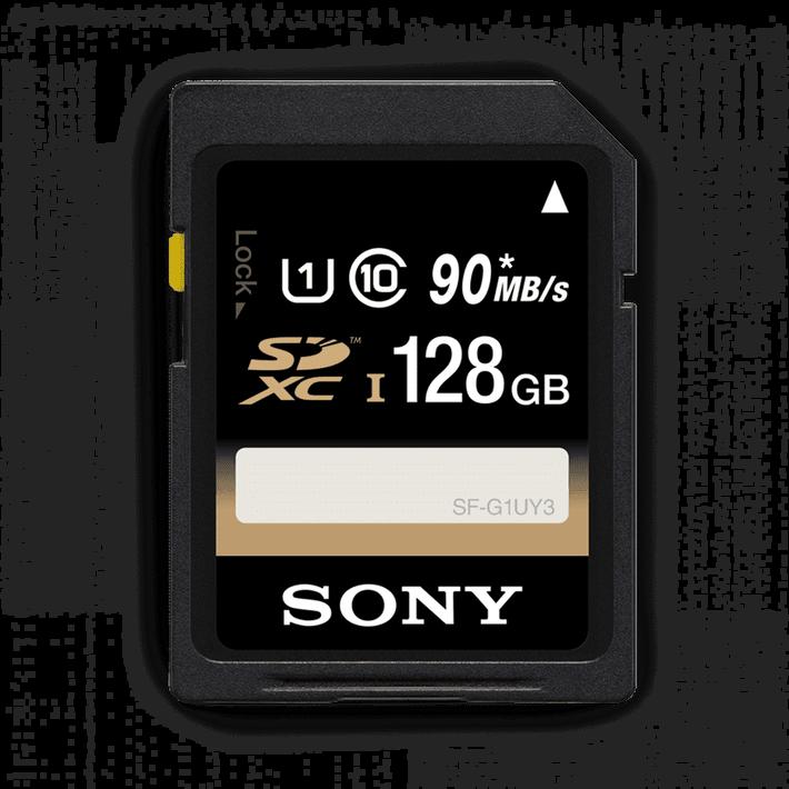 128GB SDHC Memory Card USH-1 Class 10 R70, , product-image