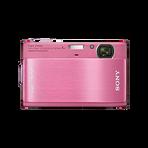 10.2 Megapixel T Series 4X Optical Zoom Cyber-shot Compact Camera (Pink), , hi-res