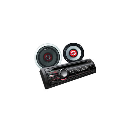 In-Car CD/MP3/WMA/Tuner Player with Xs-GfF622X Speakers