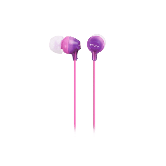 In-Ear Lightweight Headphones with Smartphone Control (Violet), , product-image