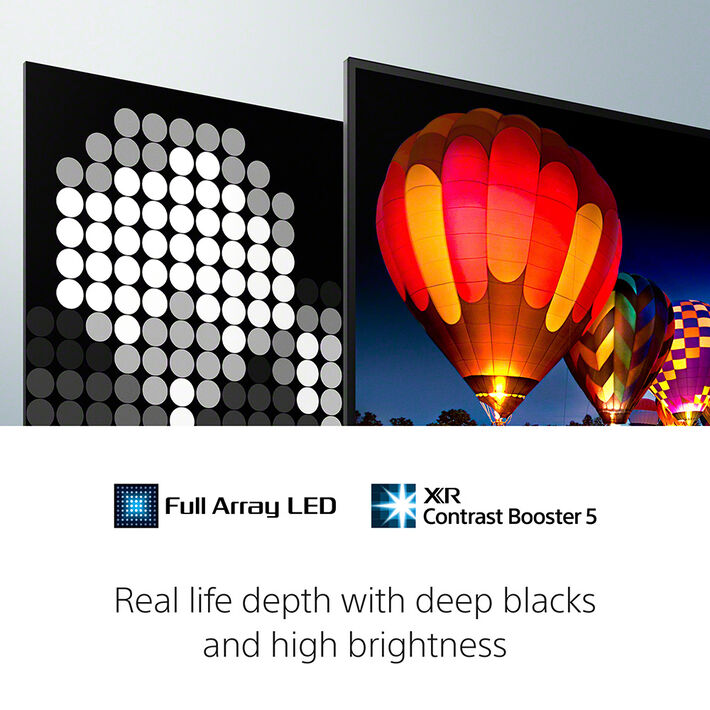 "50"" X90J | BRAVIA XR | Full Array LED | 4K Ultra HD | High Dynamic Range | Smart TV (Google TV), , product-image"
