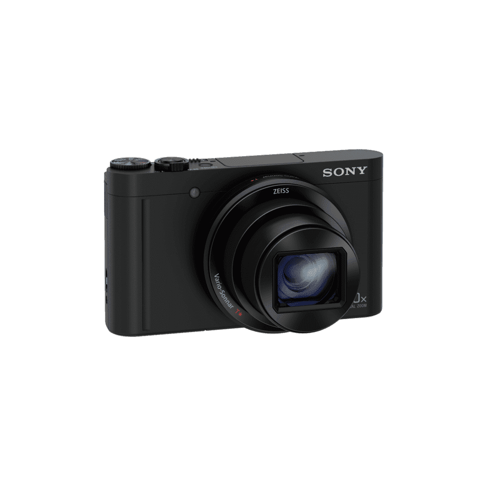 WX500 Digital Compact Camera with 30x Optical Zoom (Black), , product-image