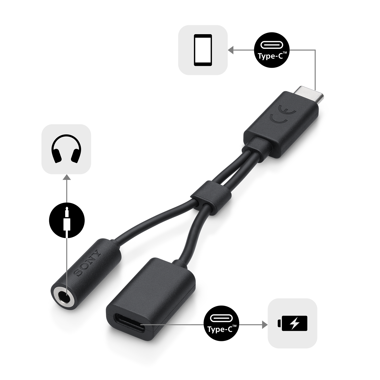 USB Type-C 2-in-1 Cable, , product-image