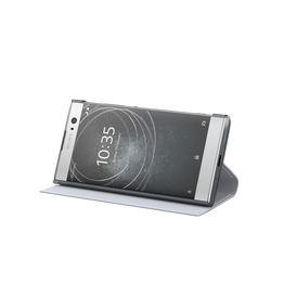 Style Cover Stand SCSH10 for Xperia XA2 (Silver), , hi-res