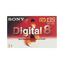 Digital 8 Tape Video Media