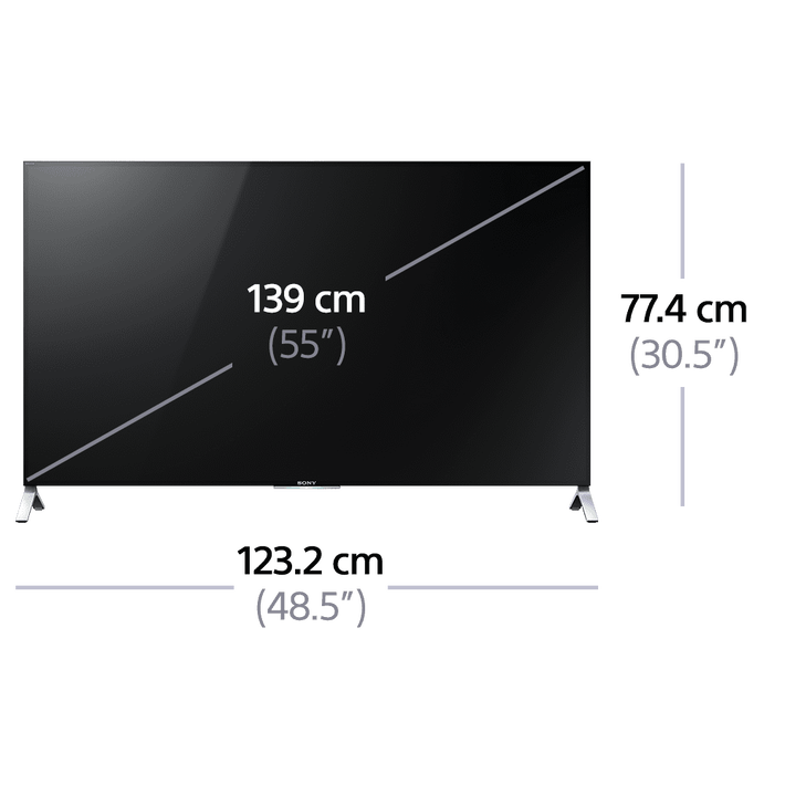 """55"""" X9000C 4K Ultra HD with android TV, , product-image"""