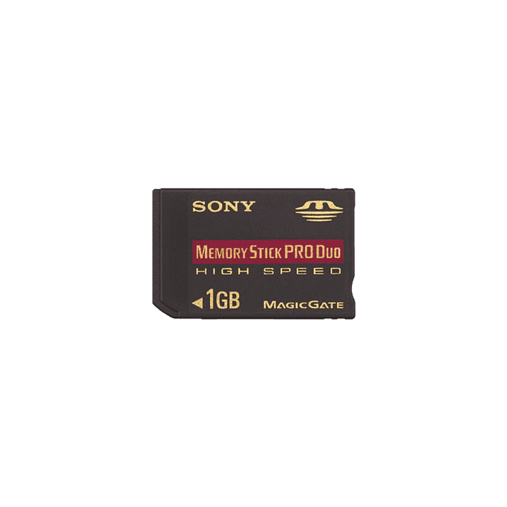 1GB MEMORY STICK PRO DUO HIGH SPEED, , product-image
