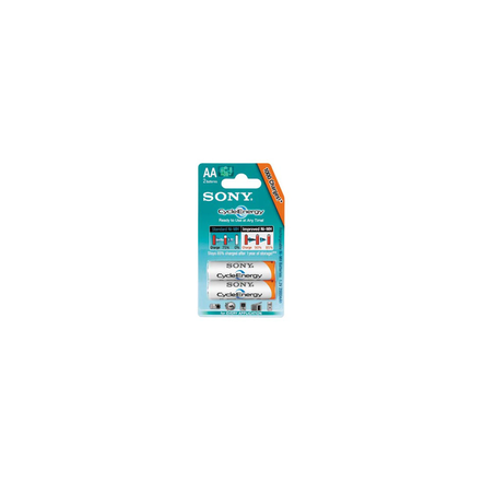 Cycle Energy Blue Rechargeable Battery AA Size, 2-PC Pack, , hi-res
