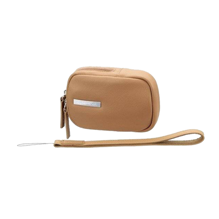 Leather Carrying Case (Beige)