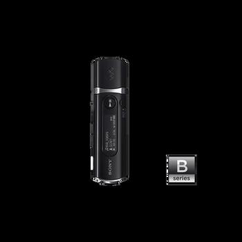 1GB USB MP3 Walkman (Black), , hi-res