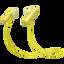 SP500 Wireless In-ear Sports Headphones (Yellow)
