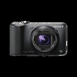 18.2 Megapixel H Series 16X Optical Zoom Cyber-shot Compact Camera (Black), , hi-res