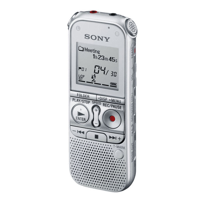 2GB AX Series Digital Voice Recorder with expandable memory capabilities (Silver), , product-image
