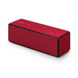 Portable Wireless Bass Speaker with Bluetooth (Red), , hi-res