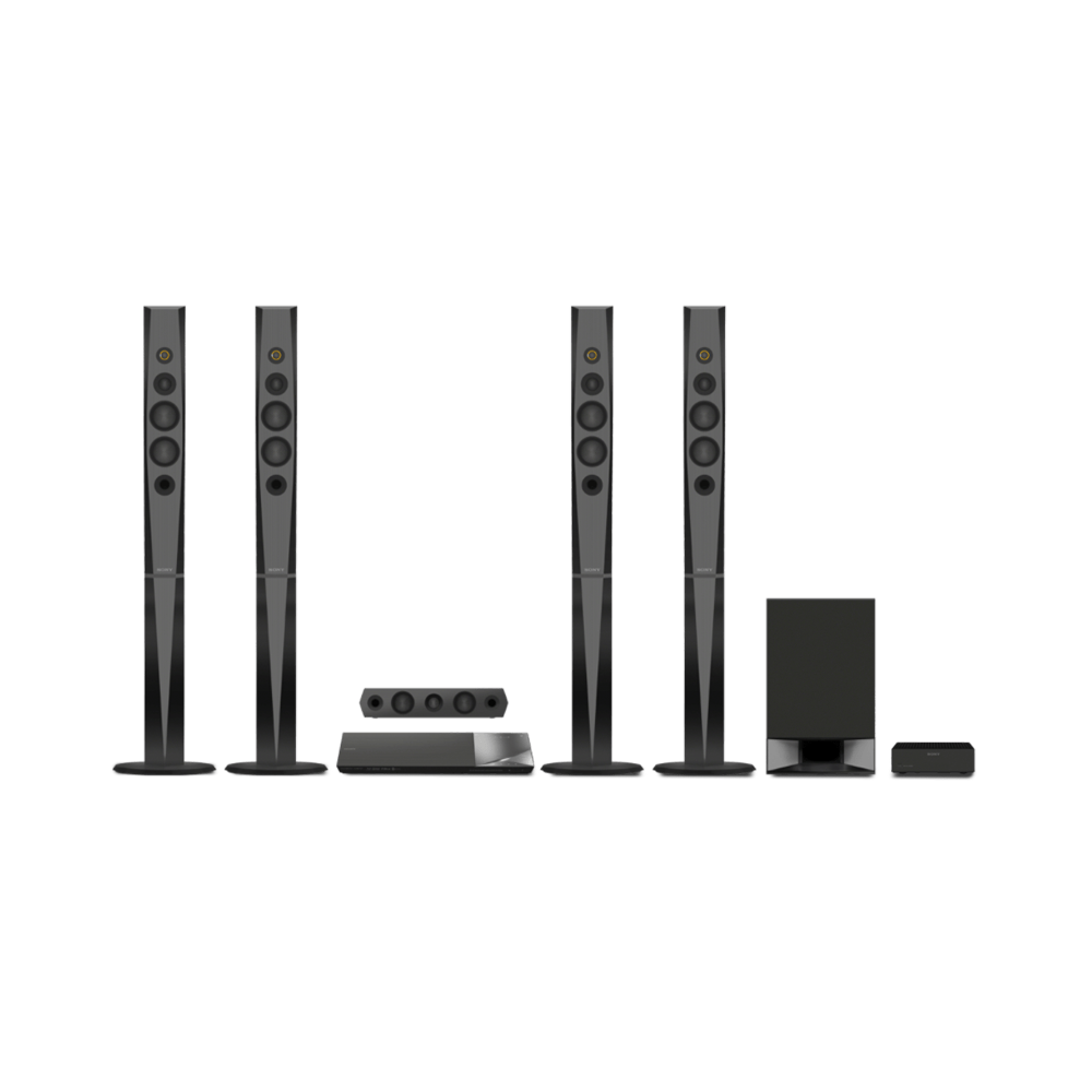 5.1 3D Blu-ray Disc Home Theatre with Bluetooth (Black)