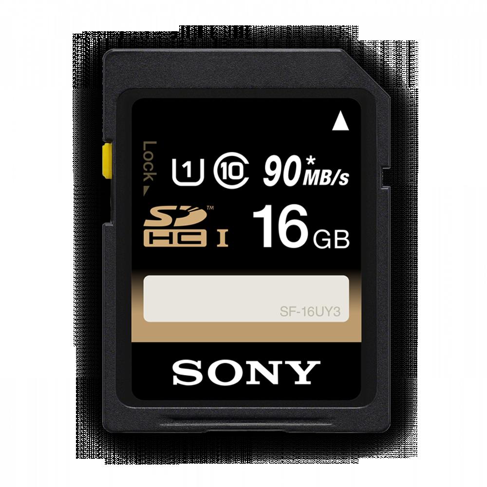 16GB SDHC Memory Card USH-1 Class 10 R70
