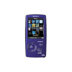 2GB A Series Video MP3 Walkman (Violet)