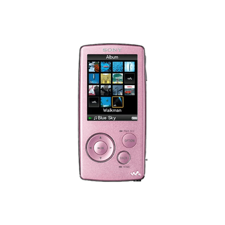 4GB A Series Video MP3 Walkman (Pink)