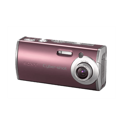 4.0 Megapixel L Series 3X Optical Zoom Cyber-shot Compact Camera (Red)